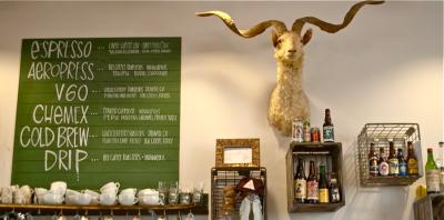 Milktooth Coffee Sign